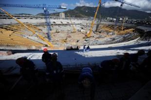 I lavori per le Olimpiadi Brasiliane sono in ritardo