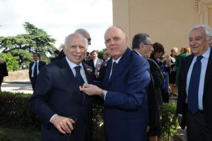 Paolo Cirino Pomicino con Rino Formica