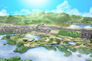 Progetto campo da golf a Rio