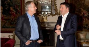 RENZI E TONY BLAIR