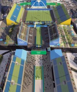 Il Sambodromo ospitera i Giochi Olimpici