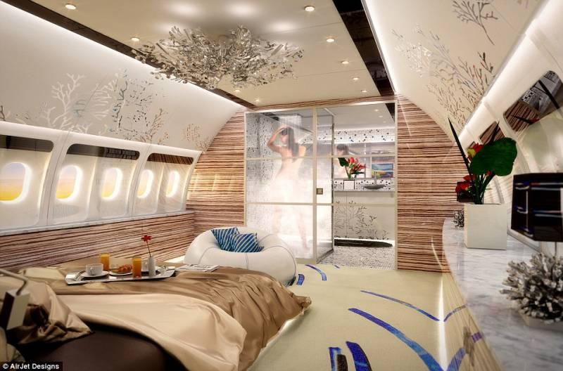 Jet Privato Globe Air : Bagni con doccia nel jet privato dago fotogallery