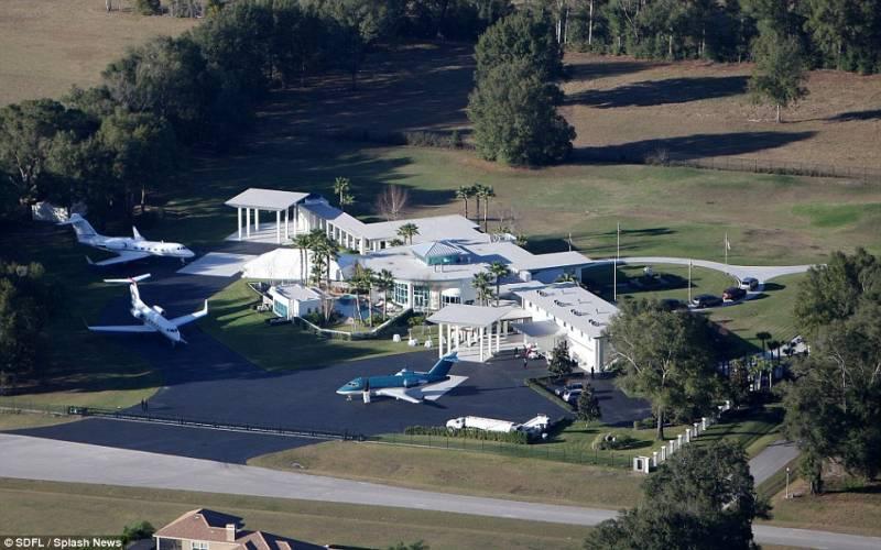 Villa John Travolta A Clearwater Dago Fotogallery
