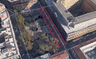 la nuova sede dei servizi segreti a roma piazza dante