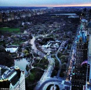 central park by melania trump
