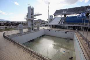olimpiadi atene abbandono