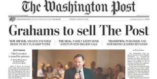 il washington post venduto dai graham a jeff bezos