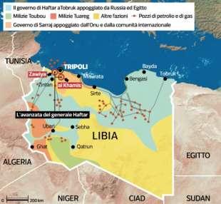 LA SITUAZIONE IN LIBIA - aprile 2019