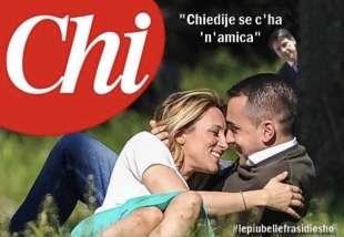 LUIGI DI MAIO VIRGINIA SABA GIUSEPPE CONTE BY OSHO