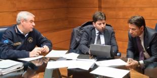 ANGELO BORRELLI ROBERTO SPERANZA GIUSEPPE CONTE