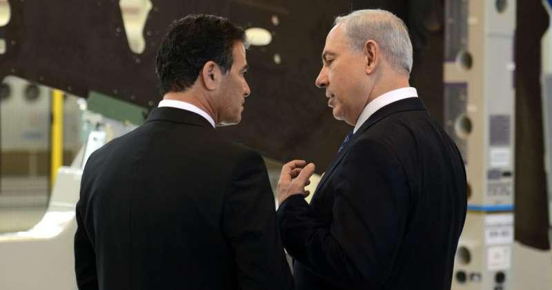 il capo del mossad yossi cohen con benjamin netanyahu