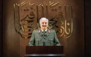 KHALIFA HAFTAR SI AUTOPROCLAMA LEADER DELLA LIBIA 1