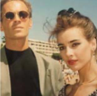 rocco siffredi e la moglie rosa in una vecchia foto