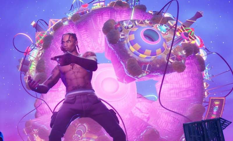 travis scott concerto astronomical su fortnite 8