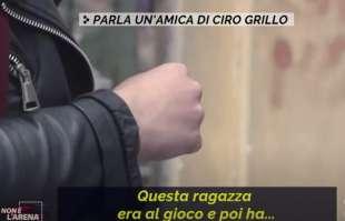AMICA CIRO GRILLO INTERVISTATA A NON E L ARENA
