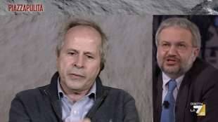 andrea crisanti vs claudio borghi piazzapulita