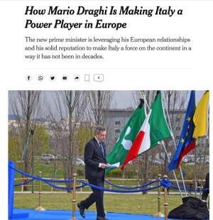 ARTICOLO DEL NEW YORK TIMES SU MARIO DRAGHI