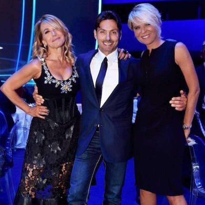 Barbara D'Urso PierSilvio Berlusconi e Maria De-Filippi