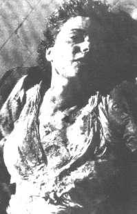 Claretta Petacci - uccisa