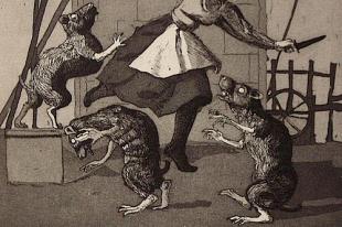 ebrei paragonati a topi