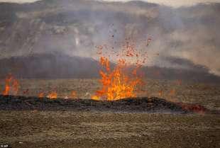 eruzione vulcano valle di geldinga, in islanda 10