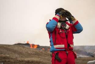 eruzione vulcano valle di geldinga, in islanda 3
