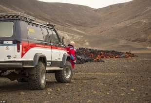 eruzione vulcano valle di geldinga, in islanda 7