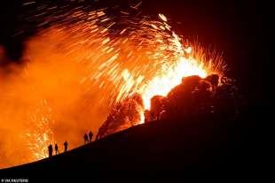 eruzione vulcano valle di geldinga, in islanda 8
