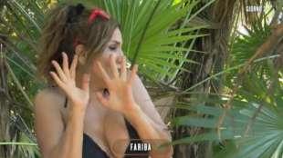 fariba tehrani all'isola dei famosi 4