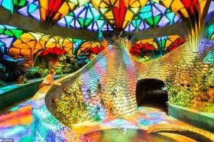 giardino interno nido di Quetzalcoatl
