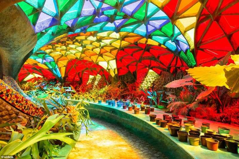 giardino interno nido di Quetzalcoatl 2