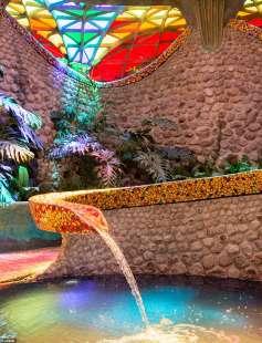 giardino interno nido di Quetzalcoatl 3