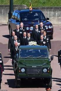 il funerale del principe filippo 12