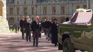 il funerale del principe filippo 4