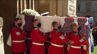il funerale del principe filippo 6