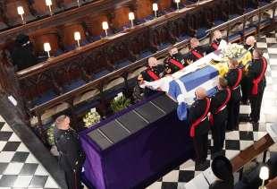 il funerale del principe filippo 8