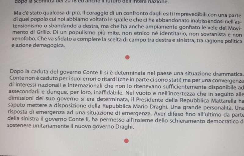 IL MANIFESTO DI AGORA BY BETTINI
