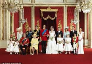 il matrimonio del principe william e kate middleton 8