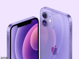 il nuovo colore viola di iphone 12