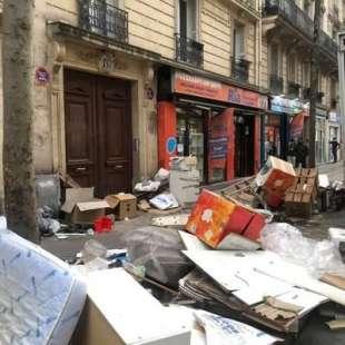 immondizia a parigi 1