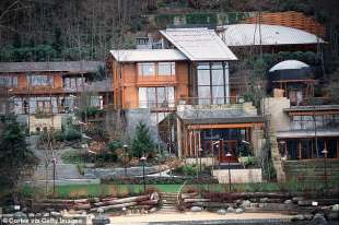 la casa di bill gates a seattle