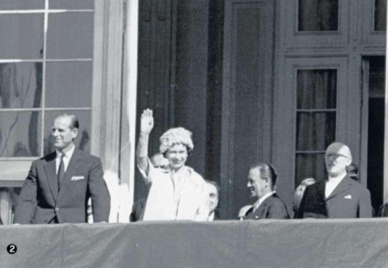 la regina elisabetta e filippo a torino nel 1961