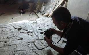 lastra mappa 3d piu' antica d'europa 8