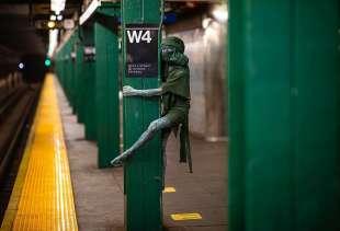 le foto in metro' a new york di mr. nyc subway 13