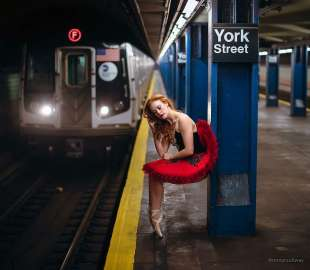 le foto in metro' a new york di mr. nyc subway 2
