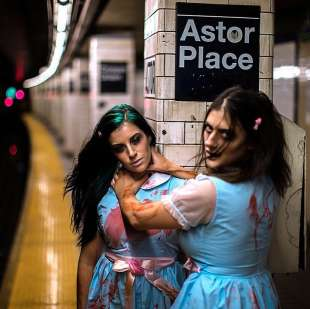 le foto in metro' a new york di mr. nyc subway 27
