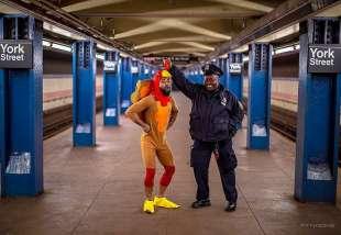 le foto in metro' a new york di mr. nyc subway 3