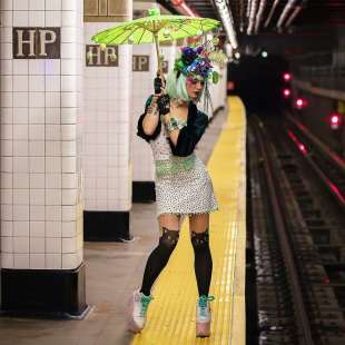 le foto in metro' a new york di mr. nyc subway 32