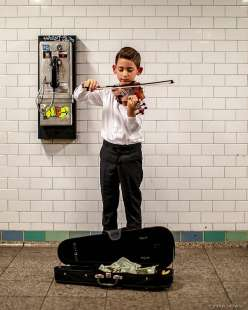 le foto in metro' a new york di mr. nyc subway 34