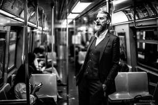 le foto in metro' a new york di mr. nyc subway 35